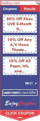 enjoy coupon remove