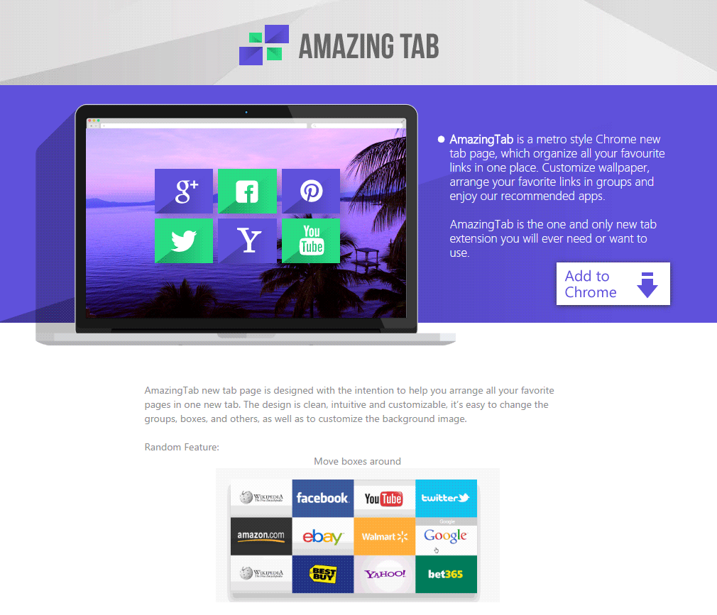 This Program Was Developed To Show An Specific Page Whenever You Open A New Tab Or Window On Your Web Browser Amazing Has Different Links Towards Known