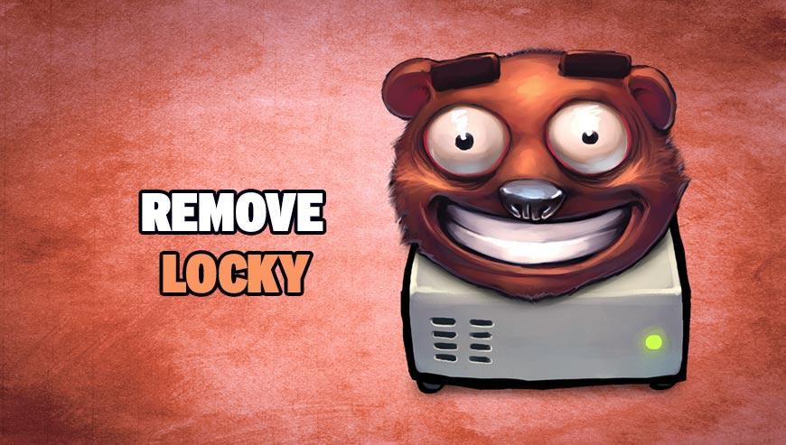 Remove Locky - How to remove ?