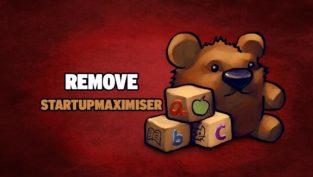 remove startupmaximiser