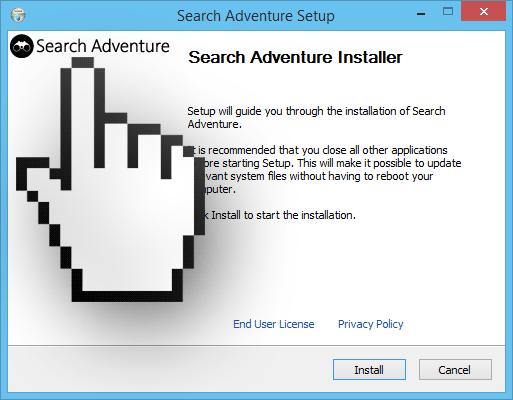 searchadventure setup
