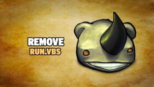 remove run.vbs