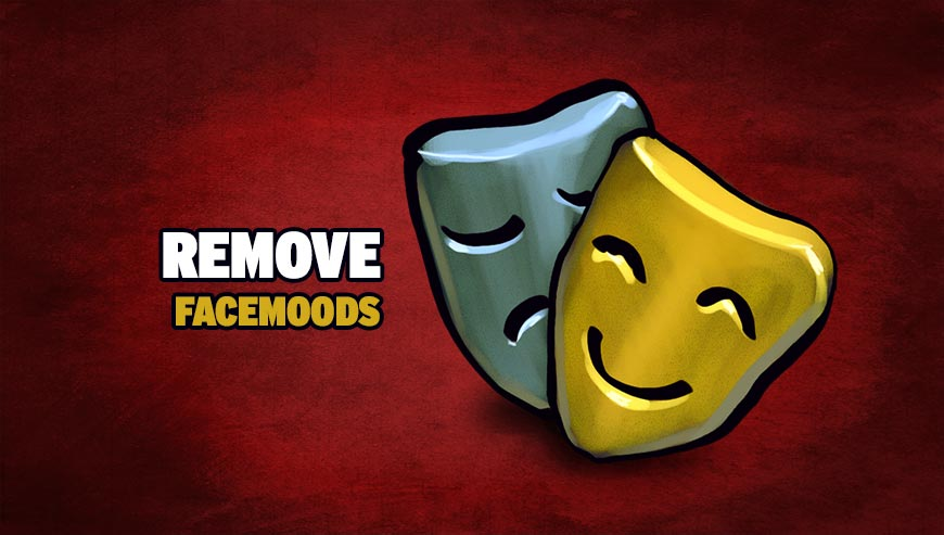 Remove start.facemoods.com