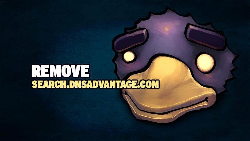 Remove search.dnsadvantage.com