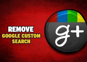 how to remove google custom search