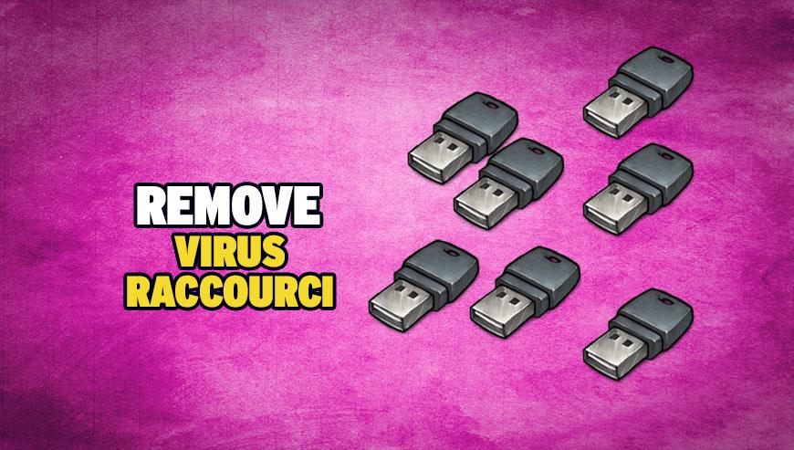 Remove USB shortcut virus