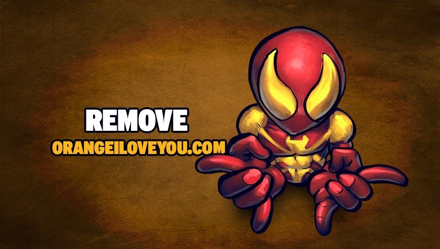 Remove orangeiloveyou.com