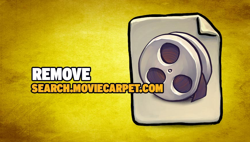 Remove search.moviecarpet.com