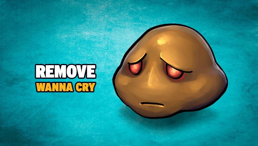 Remove Wanna Cry