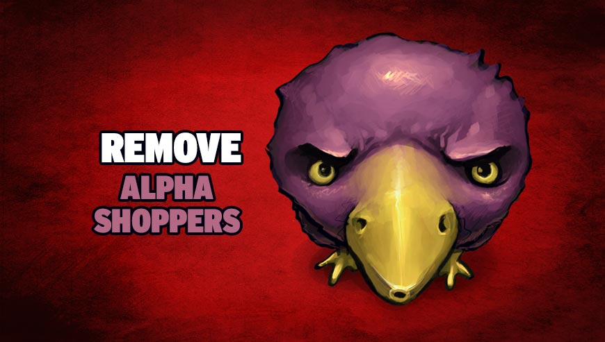 Remove Alpha Shoppers