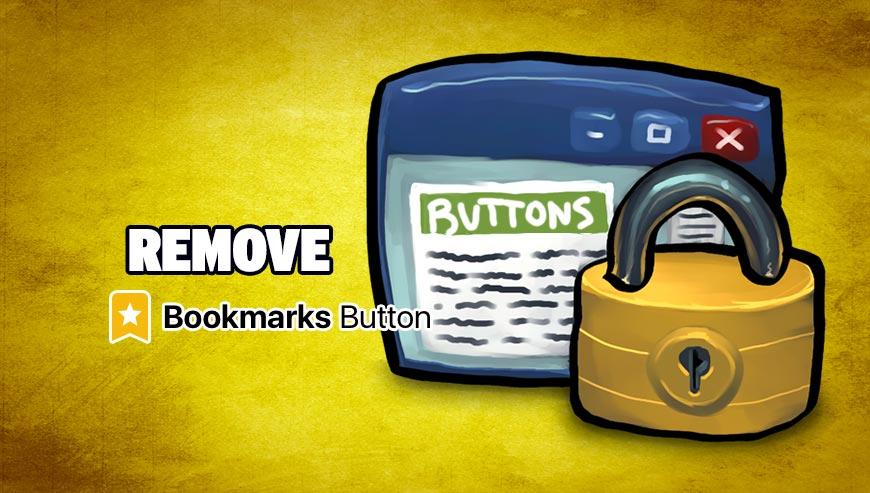 Remove Bookmarks Button